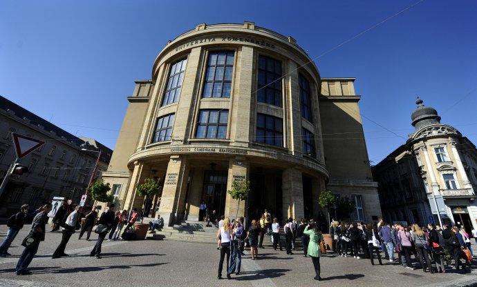 Univerzita Komenského v Bratislave. Foto – TASR