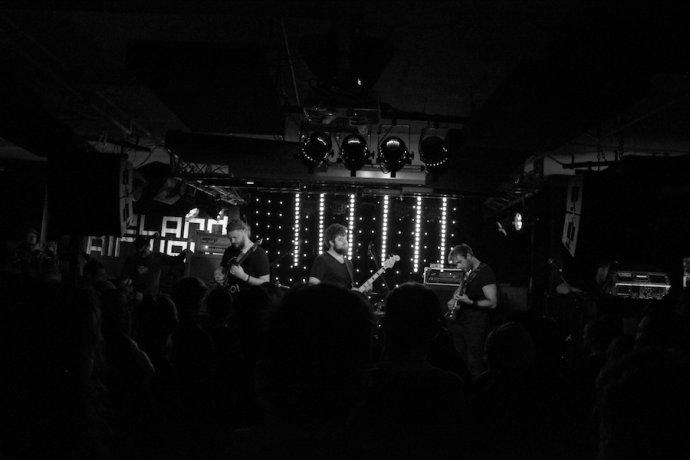Plný klub počas koncertu The Ills. Foto - Tatiana Lehocká
