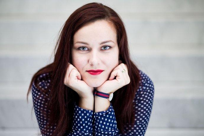 Operná speváčka Andrea Vizvári. Foto – Vladimír Šimíček