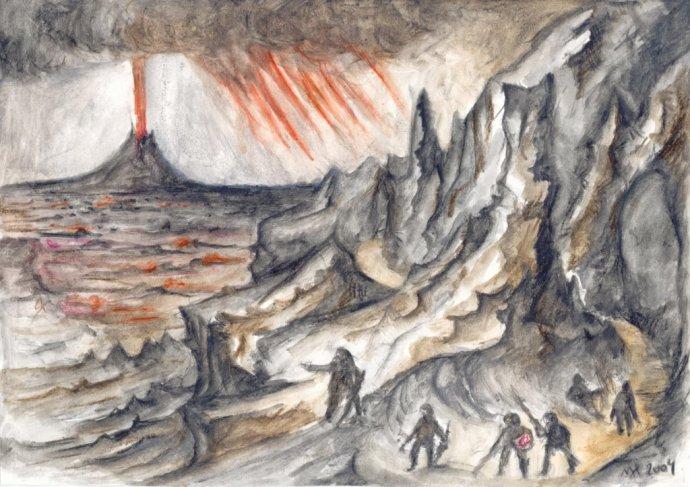 Mordor. Autor – Matúš Hyžný