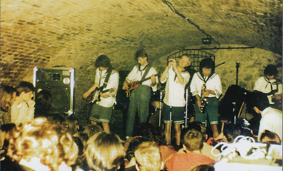 Koncert hviezd alternatívnej scény Mňága a Žďorp. Foto - archív Víta Filu