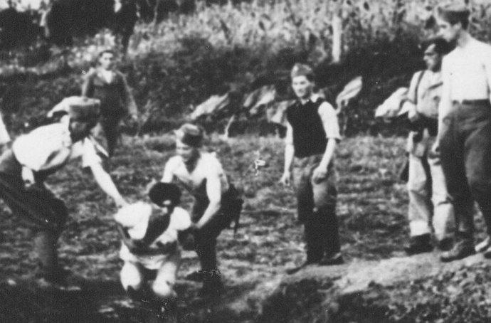 Poprava v Jasenovaci