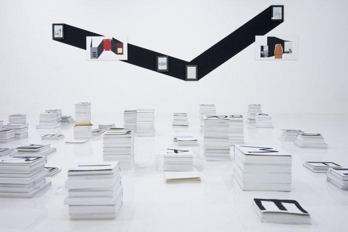 Pohľad do výstavy Jara Vargu v galérii Soda. Foto – Adam Šakový