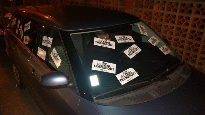 Reprofoto – Facebook Stop Uber na Slovensku