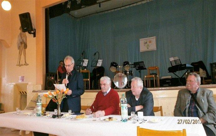 Predseda Jednoty dôchodcov na Slovensku v Liptovskej Teplej Stanislav Ižo. Foto - archív S. I.