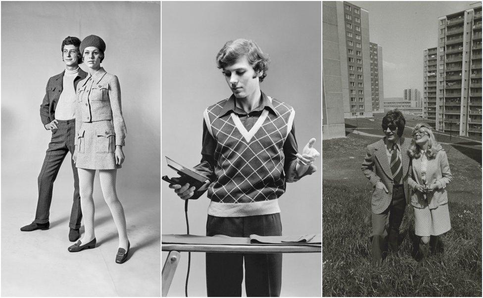 Československí návrhári mali plné ruky práce – všetok odev musel byť domáci. Foto – SNG