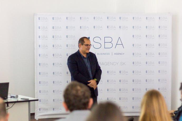 Rony Zarom v marci 2017 na pozvanie nadácie Pontis zavítal do Bratislavy. Foto – Slovak Business Agency