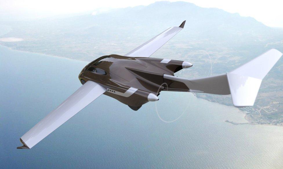 Po odchode z AeroMobilu prichádza Klein s novým lietajúcim autom, ktoré predstavuje úplne nový modulárny koncept umožňujúci viaceré modifikácie: 2- až 4-sedadlové verzie, kabriolet a verzia sedan, dvojmotorové riešenie a možnosť obojživelného použitia. Vizualizácia – Klein, Aircar