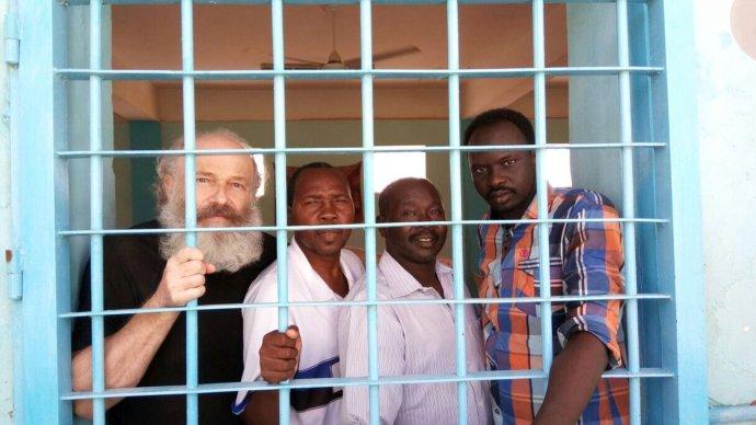 Petr Jašek v sudánskej väznici. Foto – archív P. J.