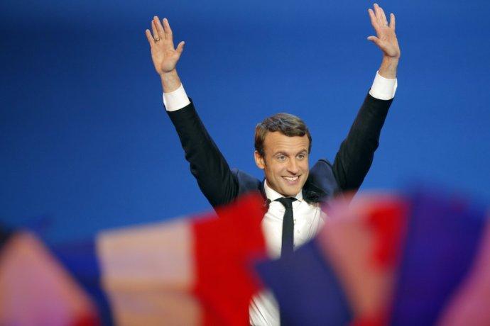 Emmanuel Macron. Foto – TASR/AP