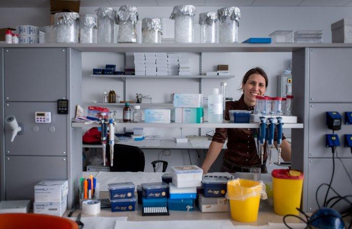 Barbara Ukropcová je lekárka a vedkyňa. Pracuje v Biomedicínskom centre SAV a vyučuje na Univerzite Komenského v Bratislave. Foto N - Tomáš Benedikovič