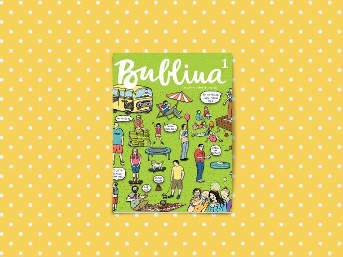 Časopis Bublina by mal byť pre deti vo veku približne od šesť do desať rokov. Foto – Bublina