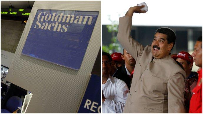 Banka Goldman Sachs kúpila dlhopisy venezuelskej vlády. Foto – TASR/AP