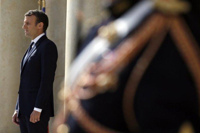 Francúzsky prezident Emmanuel Macron. Foto – TASR/AP