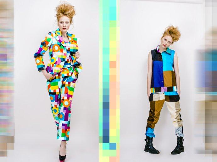 Cenu za produktový dizajn pred dvoma rokmi získala aj Lenka Sršňová so svojou kolekciou Colorcode. Foto - Jakub Gulyás