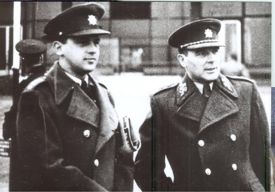 Heliodor Píka a Milan Píka krátko po vojne. Foto – archív M. P.