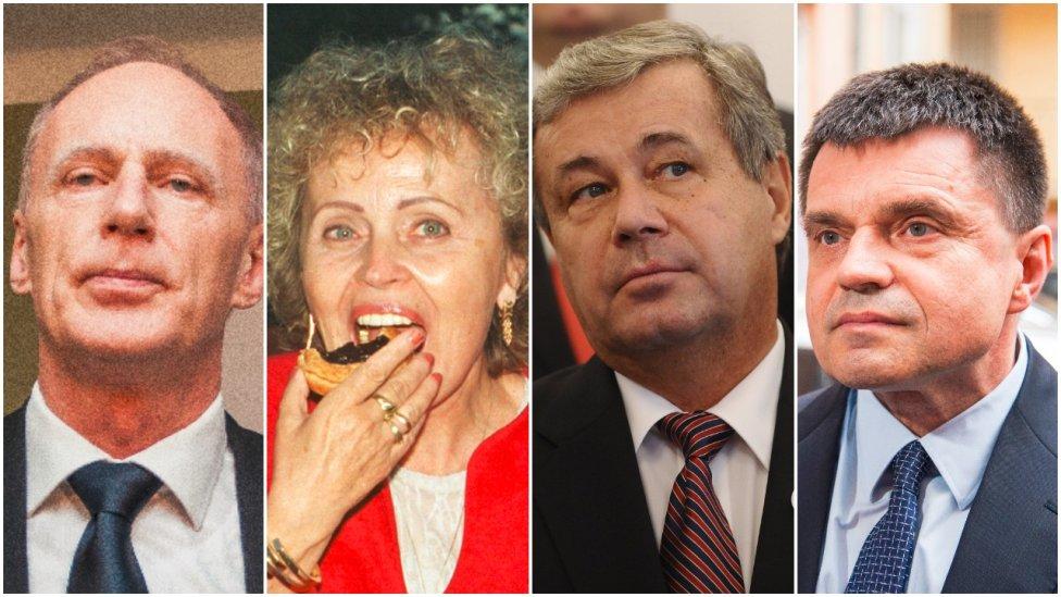 Ministri školstva SNS: Jaroslav Paška, Eva Slavkovská, Ján Mikolaj a Peter Plavčan. Foto – TASR