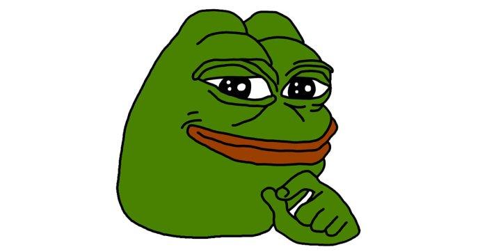 Blbec.online monitoruje aj priaznivcov krajne pravicového hnutia alt-right. Ich maskotom sa stal žabiak Pepe.