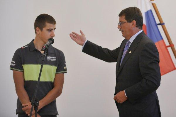 Peter Sagan a Pavol Paška v roku 2012. Foto – TASR