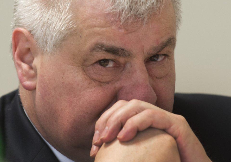 Minister dopravy Árpád Érsek. Foto – TASR