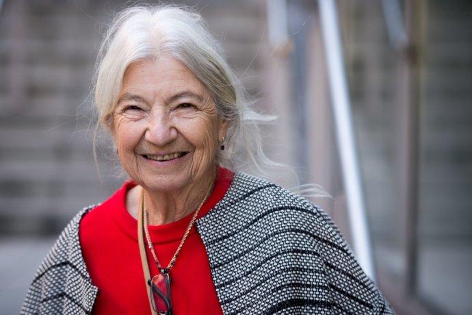 Profesorka z Berkeley Ružena Bajcsy má 84 a stále miluje matematiku aj výskum. FOTO N - Vladimír Šimíček