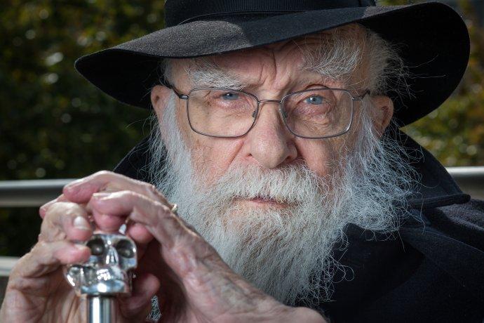 Iluzionista a skeptik James Randi zomrel v utorok 20. októbra vo svojom dome v Plantatione na Floride. Mal 92 rokov. Foto N – Tomáš Benedikovič