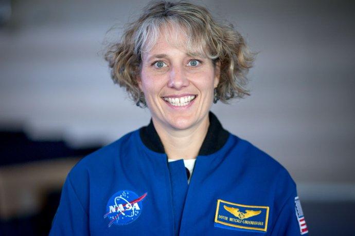 Astronautka Dorothy Metcalf-Lindenburgerová prišla na Slovensko. Foto N - Tomáš Benedikovič