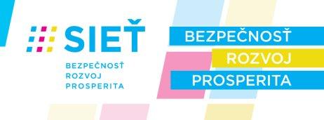 Nové logo a slogan Siete. Zdroj – FB Siete