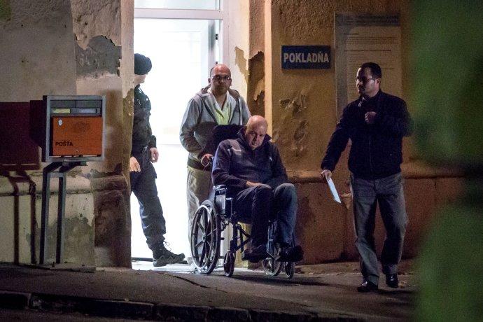 Pavol Rusko v nemocnici. Foto N - Tomáš Benedikovič