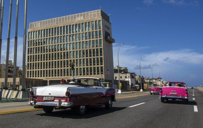 Budova americkej ambasády v Havane. Foto – TASR/AP