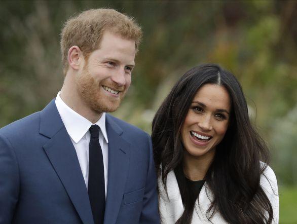 4d045a7704fd Meghan Markleová a princ Harry. Foto - ap