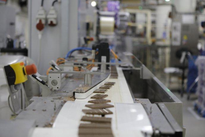 Bratislavská továreň na výrobu čokolády Mondelez International. Foto – Mondelez International