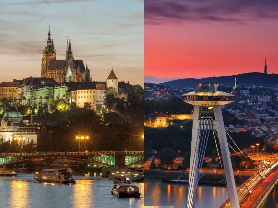 Foto – Prague.eu/Visitbratislava.com