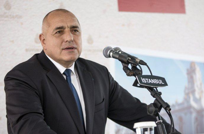 Bulharský premiér Bojko Borisov. Foto – TASR/AP