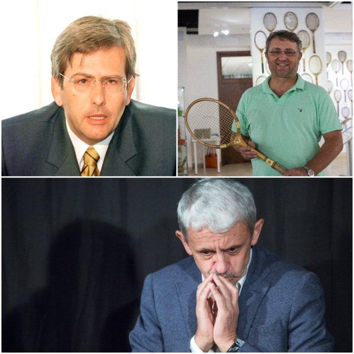 Bývalí pokladníci SDKÚ Gabriel Palacka (vľavo) a Igor Kucej. Mikuláš Dzurinda uvažuje o návrate do politiky. Foto N - Tomáš Benedikovič a Tasr