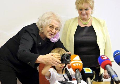 Komisárka Viera Tomanová. Foto – TASR