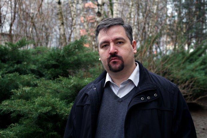 Ján Hlavinka. Foto - Andrej Bán