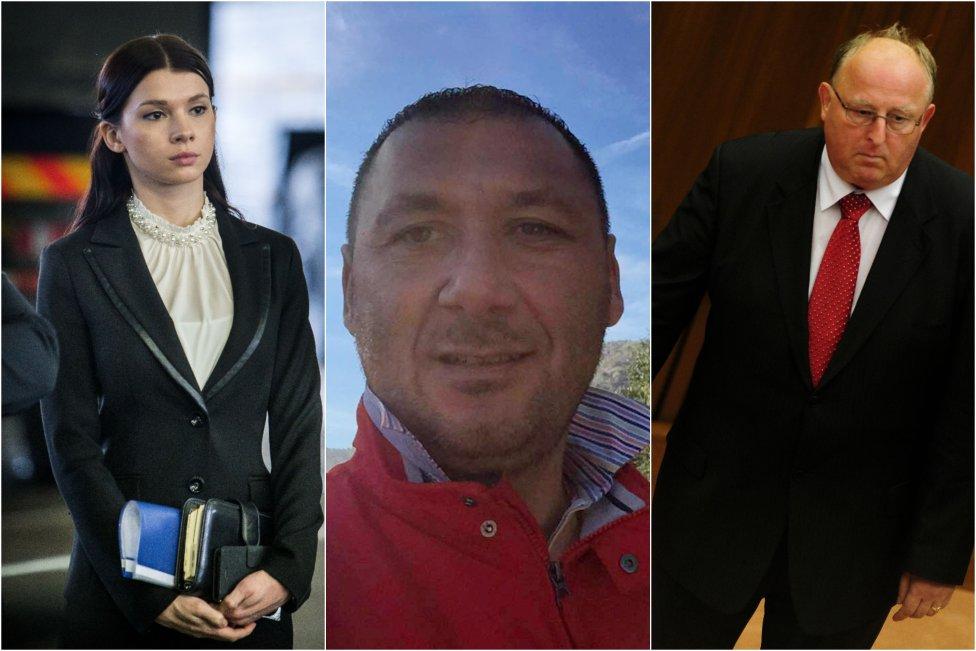 Premiérova asistentka Mária Trošková, taliansky podnikateľ Antonino Vadala a bývalý poslanec Smeru Viliam Jasaň, ktorý je dnes tajomníkom bezpečnostnej rady. Foto - N, TASR a FB A. Vadalu