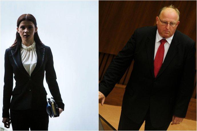 Mária Trošková a Viliam Jasaň. Foto N – Tomáš Benedikovič a TASR