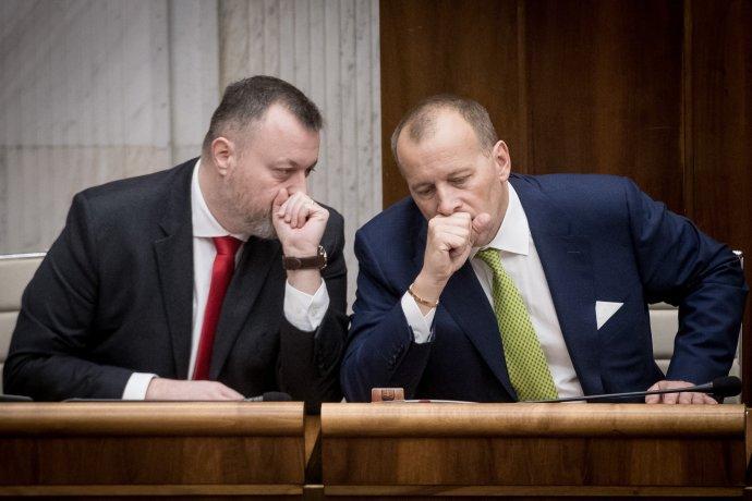 Milan Krajniak a Boris Kollár. Foto - TASR