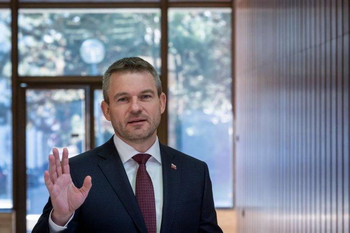 Peter Pellegrini. Foto N – Tomáš Benedikovič
