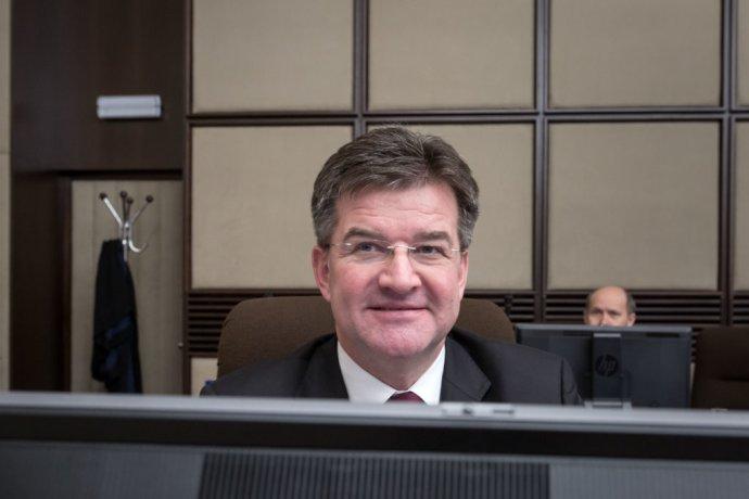 Šéf slovenskej diplomacie Miroslav Lajčák na Bezpečnostnej rade. Foto N - Tomáš Benedikovič
