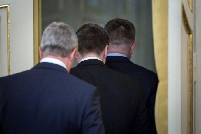 Koaliční lídri. Foto N – Tomáš Benedikovič