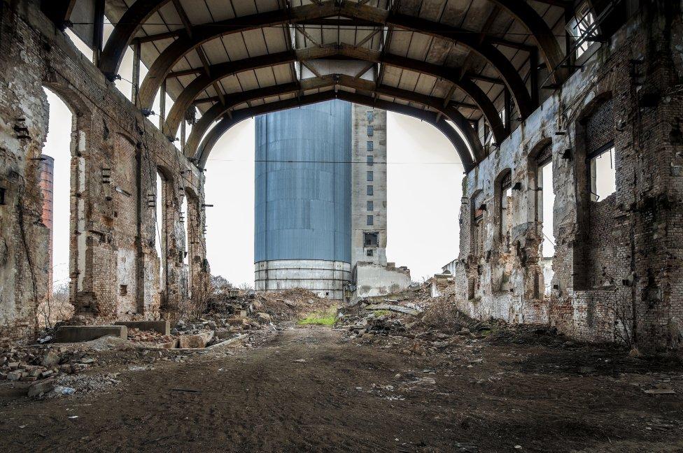 Bývalý cukrovar v Pohronskom Ruskove. Foto - Olja Triaška Stefanović
