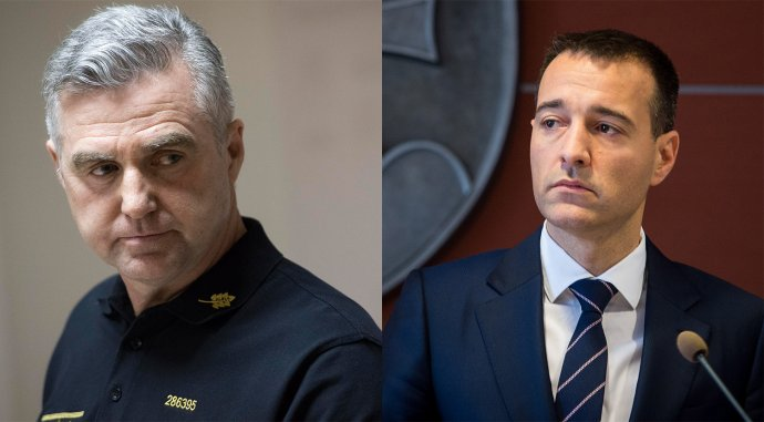 Tibor Gašpar a Tomáš Drucker. Foto N – Vladimír Šimíček a TASR