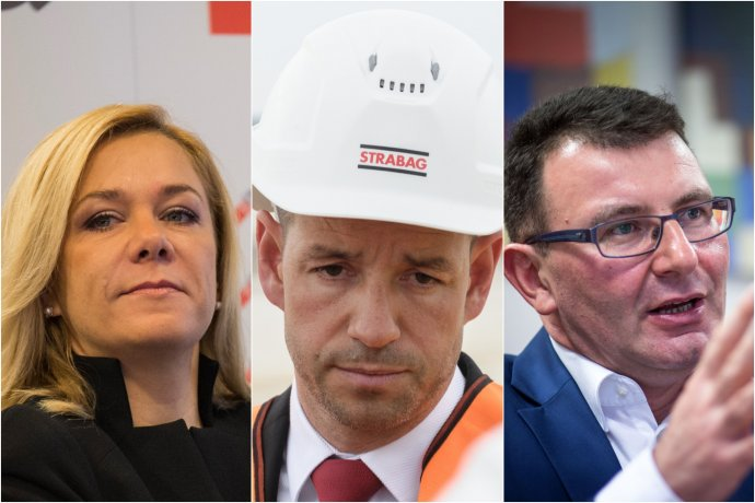 Denisa Saková, Viktor Stromček a František Imrecze. Foto N – Tomáš Benedikovič a TASR