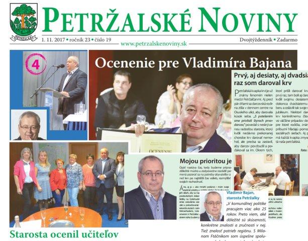 Nikdy nie je dosť Bajana na jedno vydanie Petržalských novín