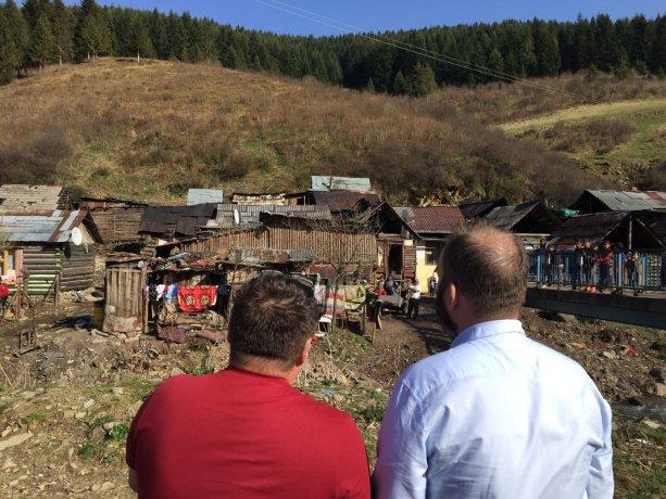 Rómska osada v obci Kolačkov