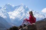 Marta junior a Marta senior na treku v Himalájach