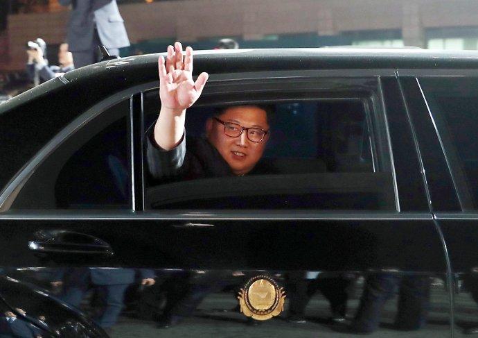 Kim Čong-un (na snímke) aj Donald Trump sú už v Singapure, kde sa v utorok stretnú v hoteli Capella. Foto - tasr/ap